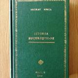 ISTORIA BUCURESTILOR- NICOLAE IORGA- 1939, prima editie/ legatura deosebita
