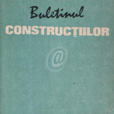 Buletinul constructiilor, vol. 2 (1988)