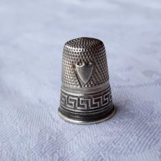 DEGETAR argint FRANTA 1900 manopera EXCEPTIONALA de efect SPLENDID de colectie