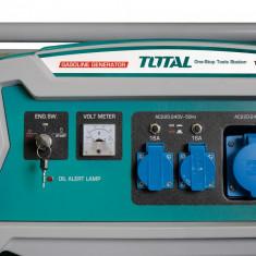 Generator benzina - 5500W TOTAL,Sistem de pornire: Manual + Electric