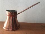 Ibric olandez din cupru,pentru cafea