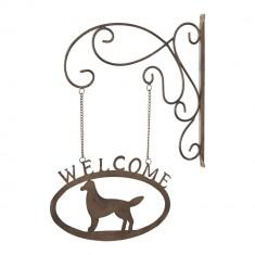 Decoratiune Welcome Dog