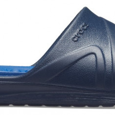 Papuci Adulti Unisex pe apă Crocs Reviva Slide, 41.5 - 43.5, 45.5, 46.5, 48.5, Albastru
