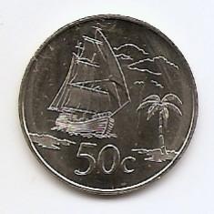 Tokelau 50 Cents 2017 - Elizabeth II (4th portrait)  25 mm, KM-New UNC !!!