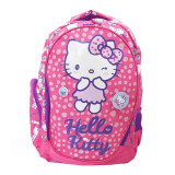 Ghiozdan clasele I-IV Pigna Hello Kitty roz inchis HKRS1823-1