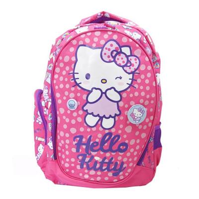 Ghiozdan clasele I-IV Pigna Hello Kitty roz inchis HKRS1823-1 foto