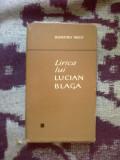 H2a Lirica Lui Lucian Blaga - Dumitru Micu