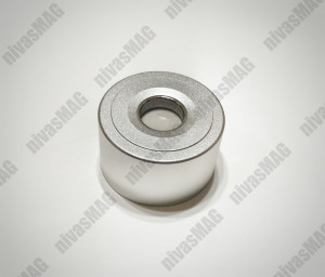 Magnet detasator pentru alarme, taguri STRONG + Carlig detasator