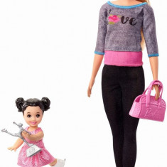 Cumpara ieftin Papusa Barbie Cariera In Sport Antrenoare De Patinaj