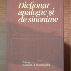 DICTIONAR ANALOGIC SI DE SINONIME AL LIMBII ROMANE-M.BUCA,I.EVSEEV,FR.KIRALY,D.CRASOVEANU,LIVIA VASILUTA,BUC.1987