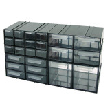 Dulap plastic diversificat Polonia, 230 x 125 x 140 mm, 6 sertare