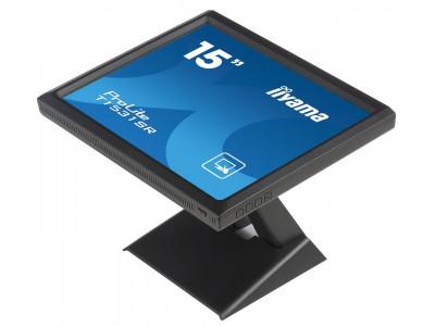 Monitor touchscreen iiyama ProLite T1531SR 15 inch Negru Model NO. PLT1500 foto
