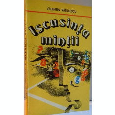 ISCUSINTA MINTII de VALENTIN RADULESCU , 1986
