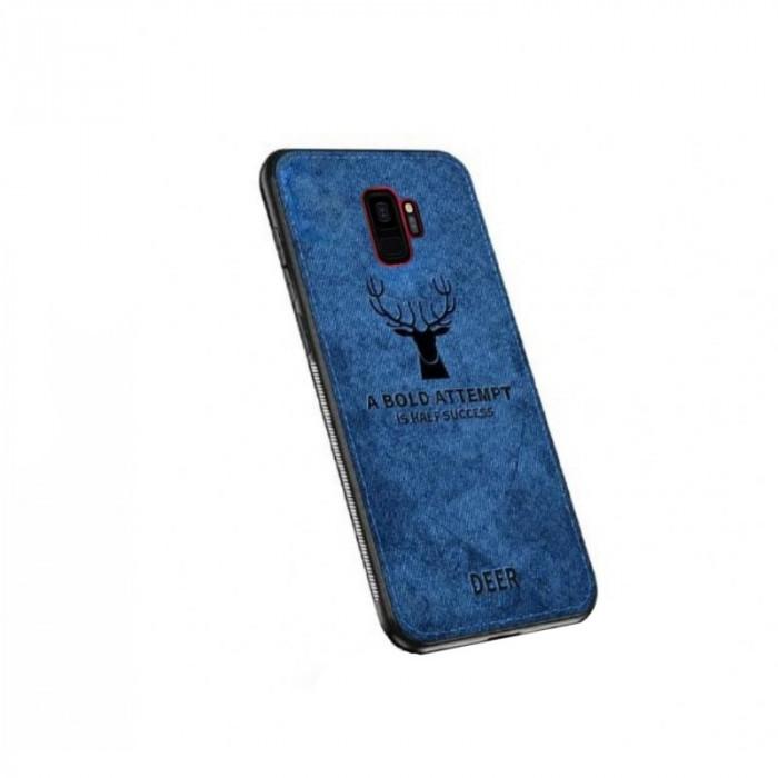 Husa SAMSUNG Galaxy S9 - Deer (Bleumarin) Blister