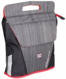 Cumparaturi geanta bicicleta negru-rosu