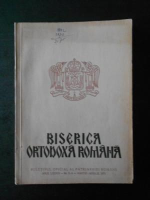 BISERICA ORTODOXA ROMANA. ANUL LXXXIX, Nr. 3-4, MARTIE APRILIE 1971 foto