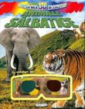 Cumpara ieftin Cartea mea 3D de colorat. Animale salbatice. Cu ochelari 3D!/***