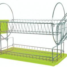 Suport uscator pentru farfurii 2 etaje MN018598 ECE