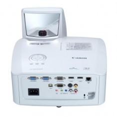 Proiector canon lv-wx300ust dlp wxga 1280x800 3000 lumeni7.500:1 lampa 5.000 ore hdmi rca mini d-sub