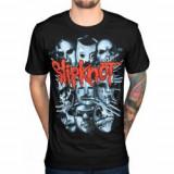 Tricou Unisex Slipknot: Masks 2