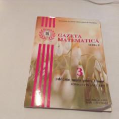 GAZETA MATEMATICA  ,NR 3 /2019
