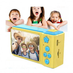 Camera foto si video portabila, digitala, pentru copii, multiple functii