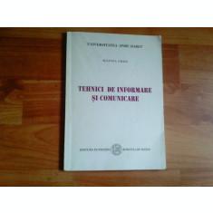 TEHNICI DE INFORMARE SI COMUNICARE-SULTANA CRAIA