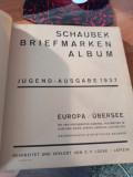 Album Schaubek - timbre toata lumea pana in 1936 - contine si timbre