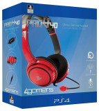 Casti Gaming Pro4-10 Officially Licensed Stereo Red Ps4