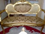 Canapea/sofa/canapeluta stil baroc/rococo/ludovic /vintage, Sufragerii si mobilier salon, Dupa 1950