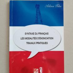Sintaxa limbii franceze (in limba franceza)