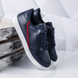Pantofi barbatesti sport albastri Cespari