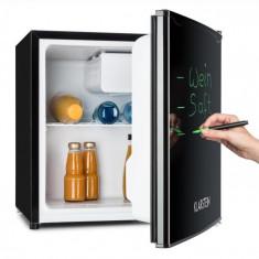 Klarstein Klarstein Spitsbergen Aca frigider 40 l Clasa de eficiență energetică A + 2 niveluri , congelator, negru