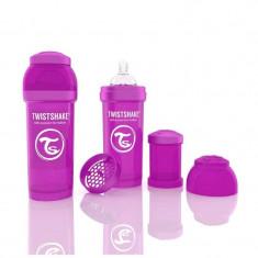 Biberon Anti colici 260 ml Twistshake Violet
