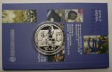 BNR - 10 LEI 2009 . UNIUNEA ECONOMICA SI MONETARA ., Argint