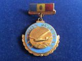 Insignă România - Insignă Aviație - Campion Județean - Aviație - Planorism
