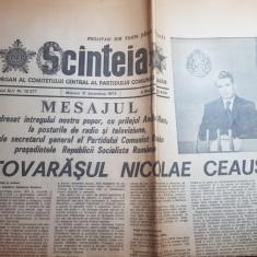 scanteia 31 decembrie 1975-mesajul de anul nou a lui ceausescu