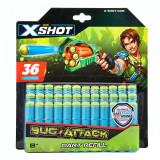 Set proiectile de rezerva X-Shot 36 bucati