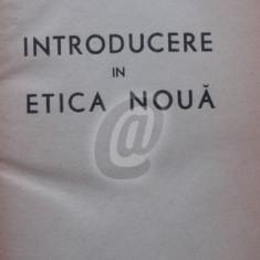 Introducere in etica noua