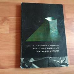 ALIAJE DURE SINTERIZATE DIN CABLURI METALICE-C. CIOCIRDIA -E. DRAGULANESCU-I. DRAGULANESCU
