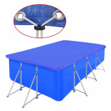 Folie pentru piscină dreptunghiulară din PE 90 g/mp 540 x 270 cm, vidaXL