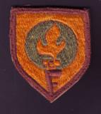 Anii 60 - Emblema vintage brodata Club Sportiv Fabrica de Confectii FLACARA Cluj