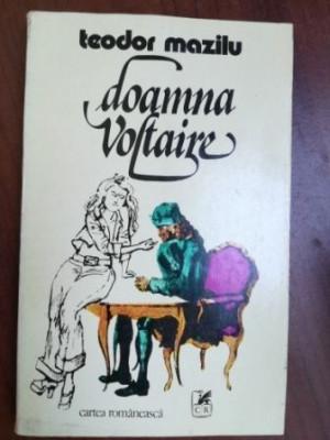 Doamna Voltaire Schite Si Scene Comice- Teodor Mazilu foto