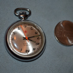 PANDANTIV CEAS PULSOMAT - PATIC - Swiss - Mecanic - De masurat pulsul - Vintage!