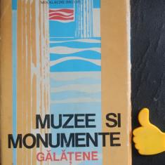 Muzee si monumente galatene Corneliu Stoica Ion Dragomir