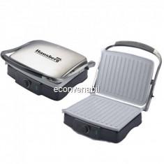 Sandwich Maker Grill Electric 2in1 4 Felii Toast 2200W Hausberg HB533