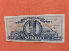 Bancnote romanesti 1000lei 1947 vf foto