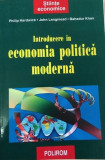 Introducere in economia politica moderna