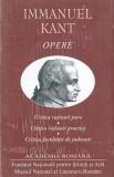Immanuel Kant. Opere