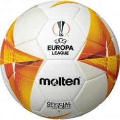 Minge fotbal Molten F5U5003-G0 UEFA EUROPA LEAGUE OFFICIAL MATCH BALL 20 / 21 , aprobata FIFA, marime 5 foto